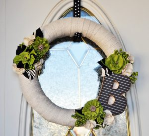 Kiwi Wreath using Nature