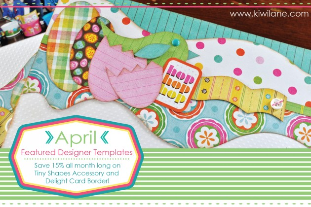 April 2015 Featured Templates