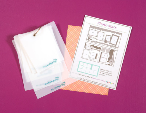 Photo Mats with Insert