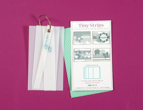 Tiny Strips with Insert