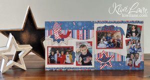 4th of july 2 page layout