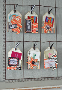 Halloween Gift Tag-Card Holders