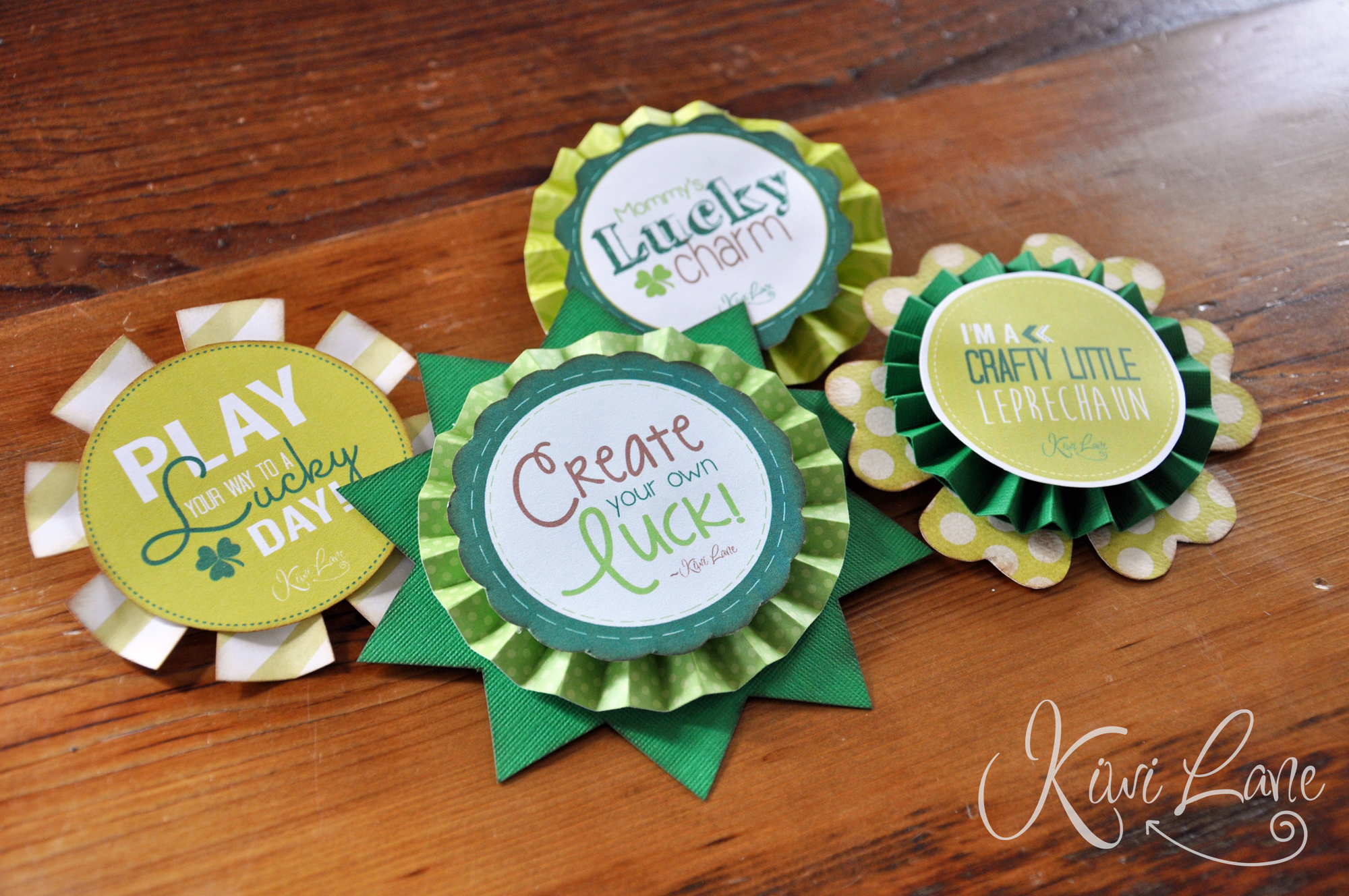 St. Patricks Day Badges/Buttons