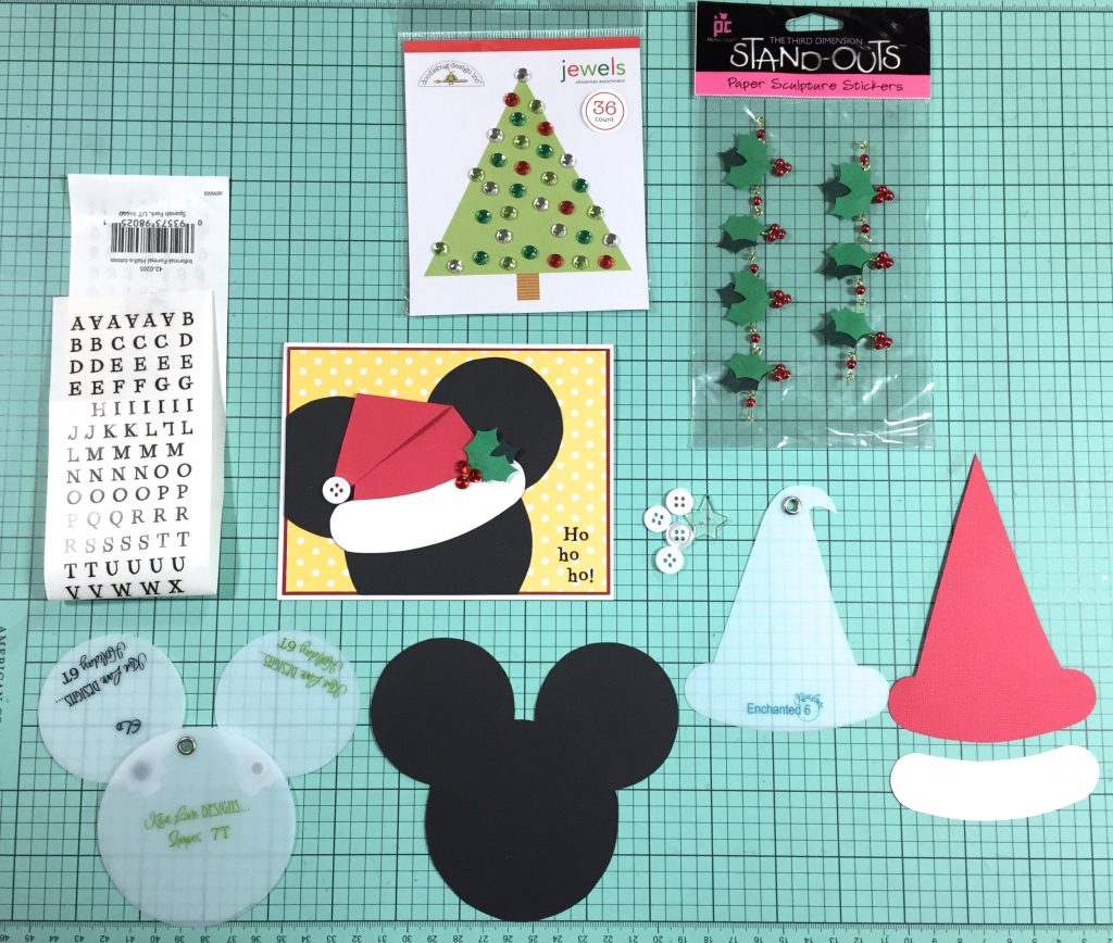 Kiwi Christmas Card / Supplies
