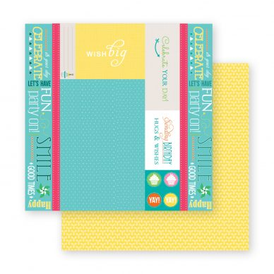 It's Your Day Layout Kit Paper Sample 1