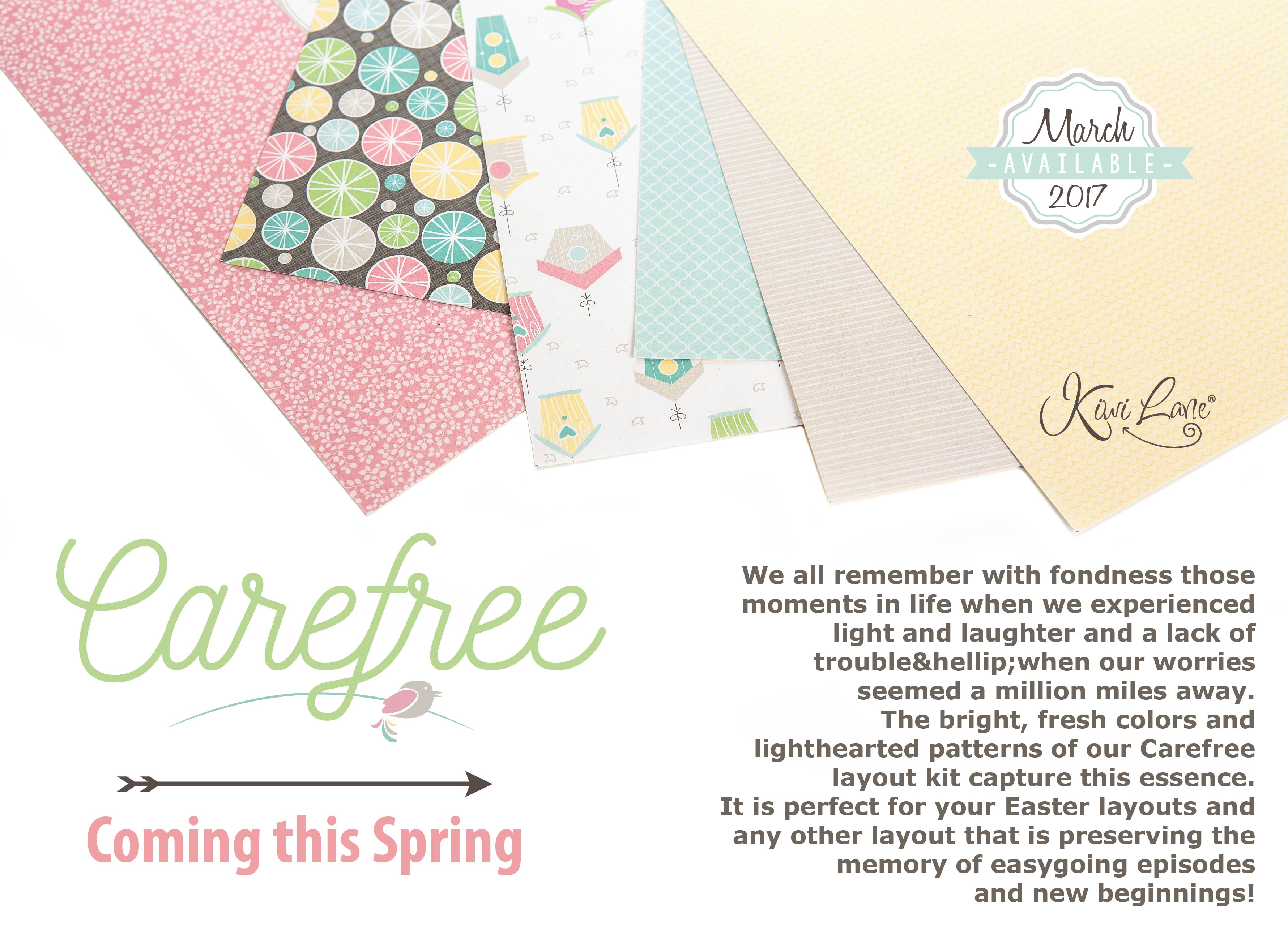 Carefree layout kit coming soon