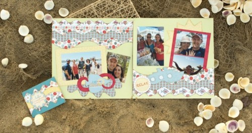Splash Of Sunshine Layout Kit Sample 3