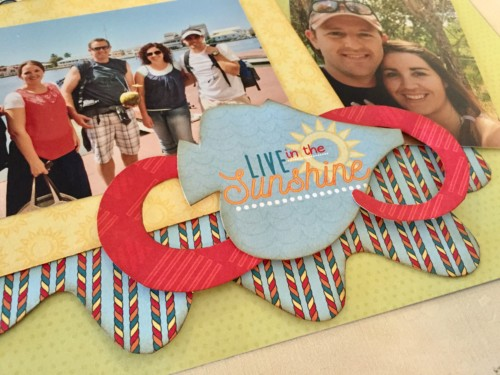 Splash Of Sunshine Layout Kit Sample 5