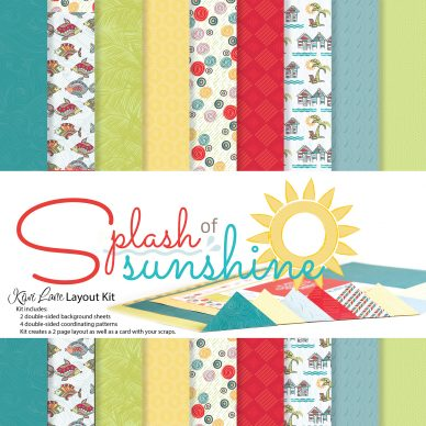Splash Of Sunshine Layout Kit Thumbnail 2