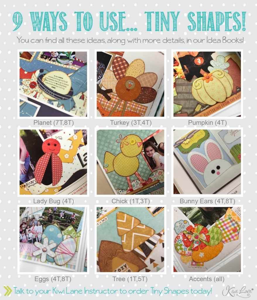ways to use tiny shapes