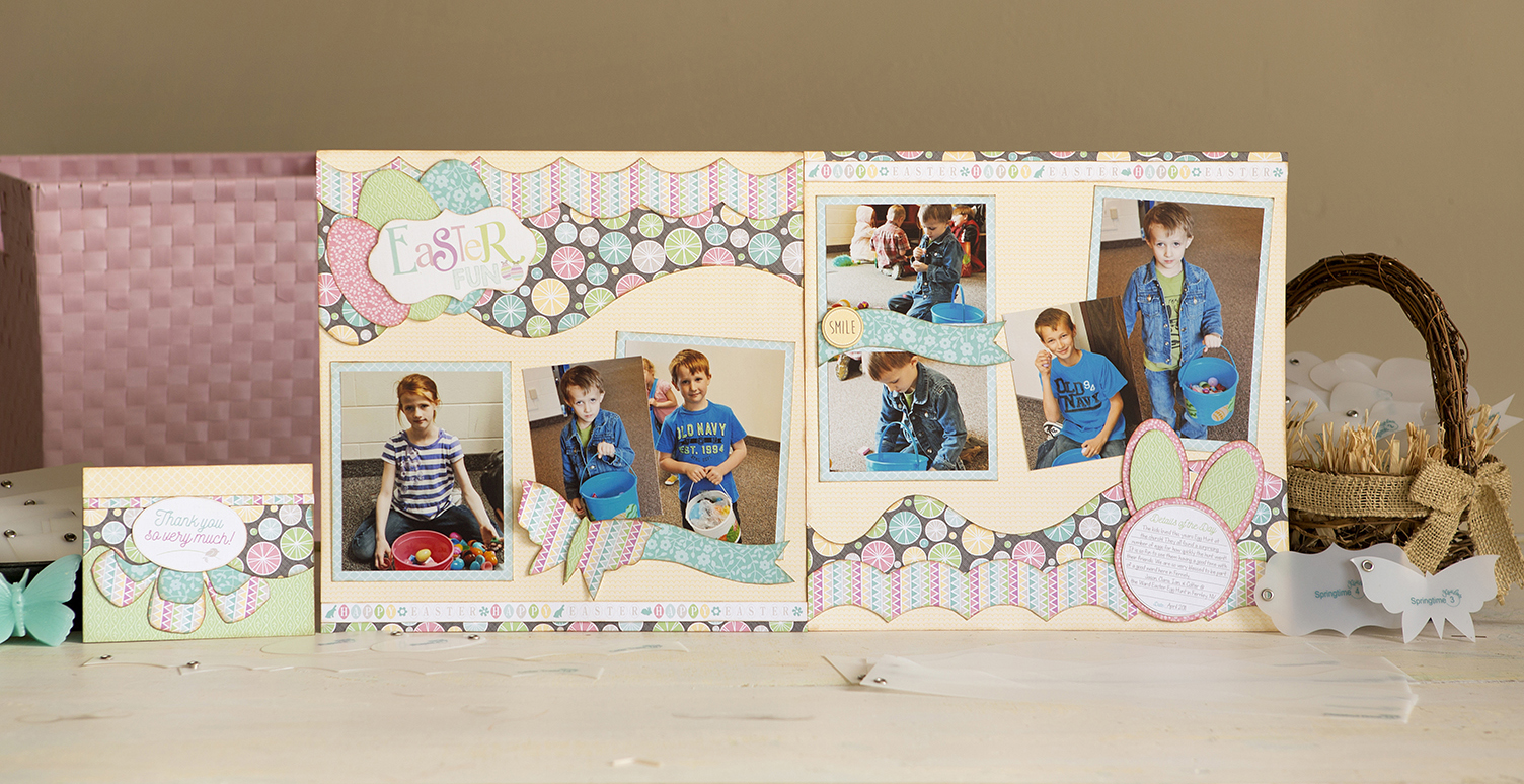 Carefree Layout Kit for Easter