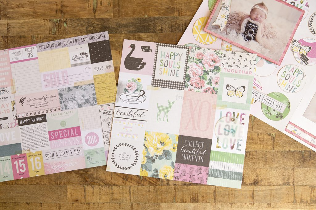 Pocket Scrapbooking Sheets