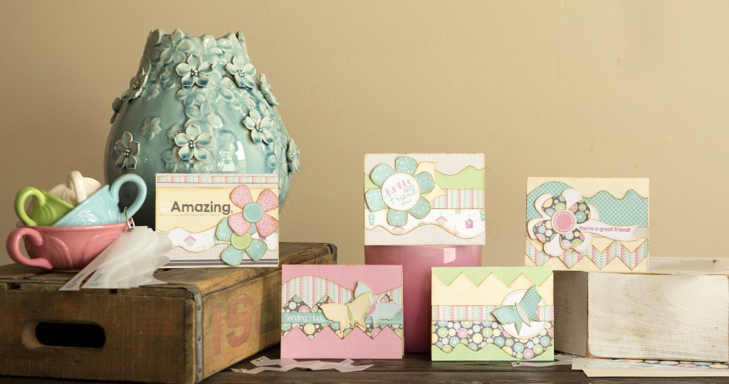 Tiny Springtime Card Samples