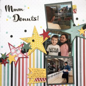 donuts 1 page layout