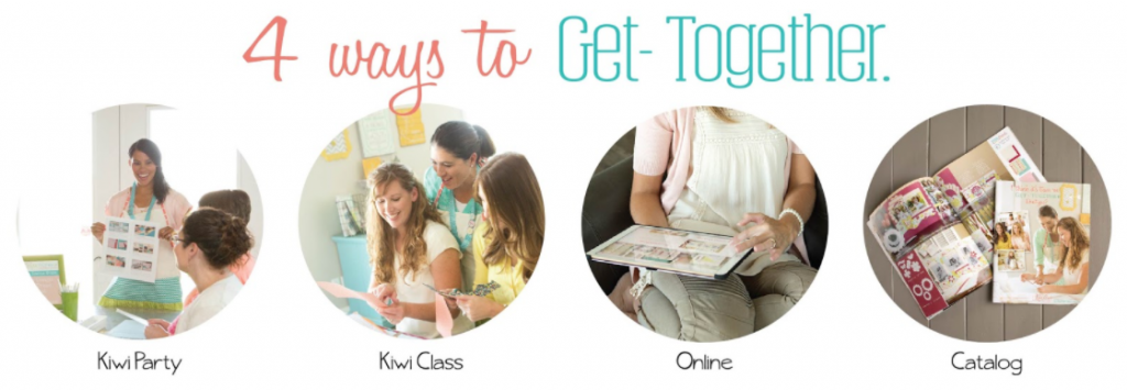 4 ways to get-together