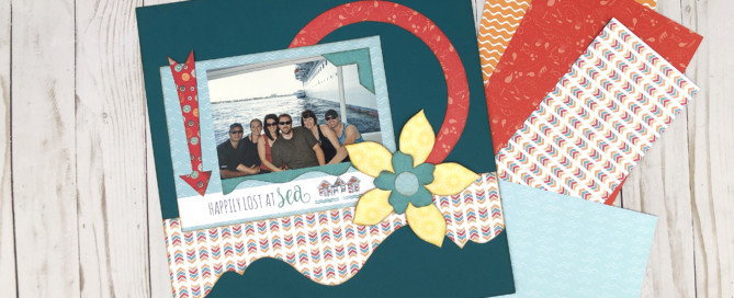 1 Page Layout using Pocket Paper Kit - Cruise